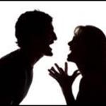 ruziend echtpaar